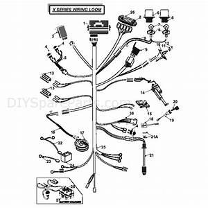 Countax X Series Rider 2010  2010  Parts Diagram  2wd Dial