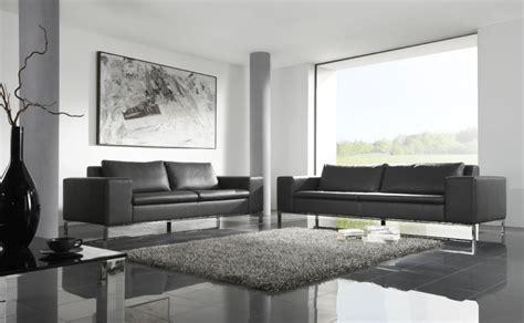 canapé en soldes soldes canapé cuir hiro design couleur gris graphit en