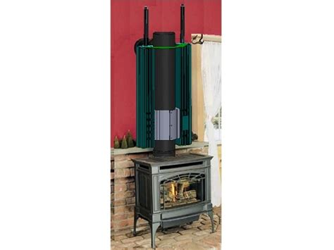 Wood Stove Thermoelectric Generator Rabbit Ear