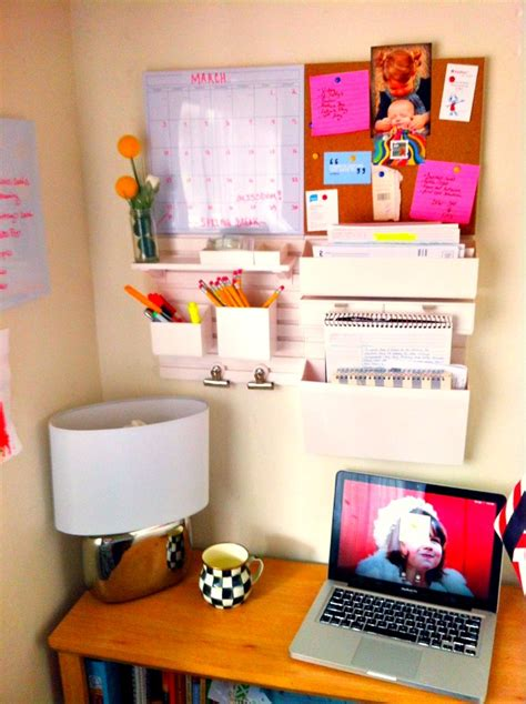 good wall organizers  home office homesfeed