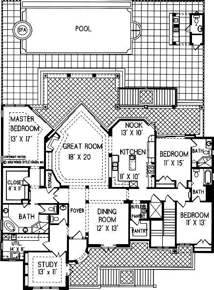 bedroom  bath adobe house plan alp  allplanscom