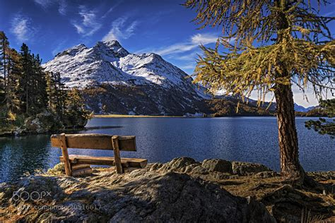 Photograph Lake Sils Engadin Valley Switzerland By
