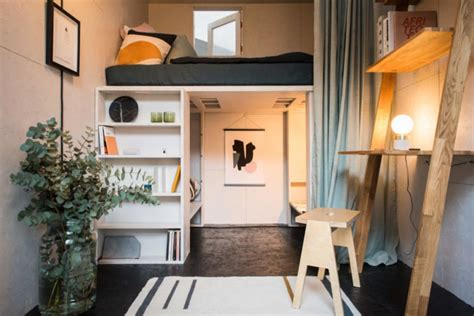 Compact House Made From Affordable Materials by The Shed Project S Affordable Micro Homes Pop Up In Just