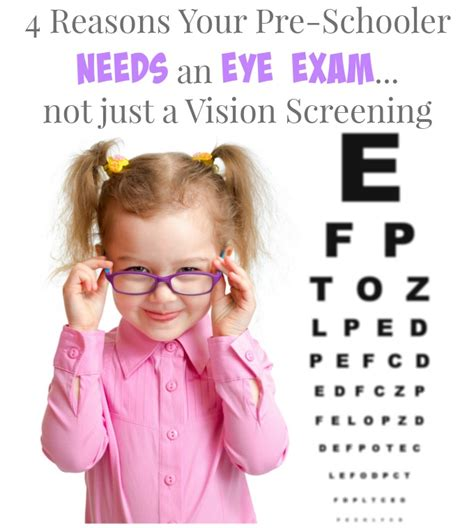 4 reasons your preschooler needs an eye 276 | 4 Reasons Your Preschooler Needs an Eye Exam not Just a Vision Screening
