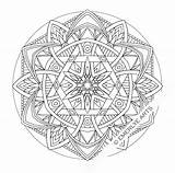 Coloring Therapy Pages Mandala Print Animal Simple sketch template