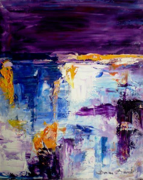 peinture moderne au couteau tableau peinture huile au couteau 5