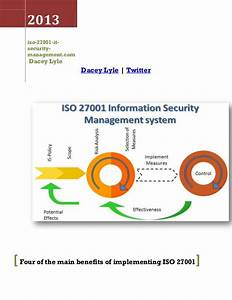 13 best iso 27001 it security management standards usa With information security standards template