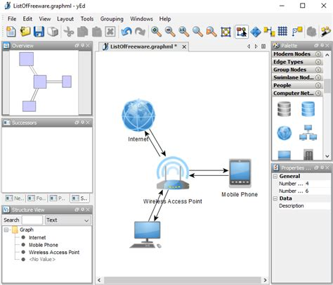 network diagram software  windows