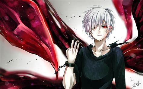 Anime Wallpaper Kaneki by Kaneki Ken Kagune White Hair Tokyo Ghoul Wallpaper 191