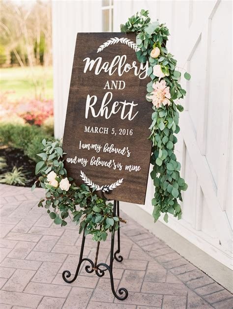 17 Best Ideas About Wedding Signs On Pinterest Rustic