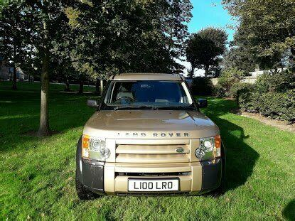 land rover discovery  gold  rare number plate  wakefield west yorkshire gumtree