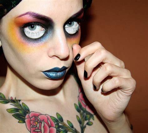 halloween makeup ideas  tutorial yve stylecom