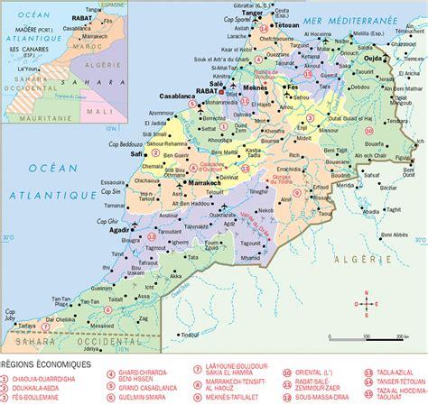 Carte Villes Maroc Pdf by Infos Sur Carte Du Maroc Detaillee Arts Et Voyages