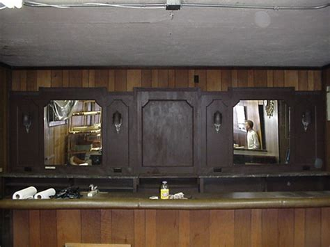 deco back bar found objects of industry