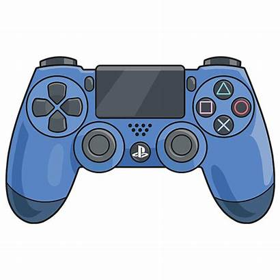 Ps4 Controller Draw Step Drawing Easy Sketch