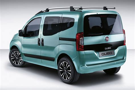 Fiat Qubo 2020 by 2016 Fiat Qubo Facelift Rear Three Quarters