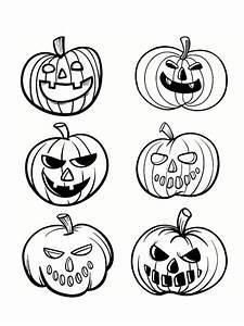Tete De Citrouille Pour Halloween : coloriage citrouille 21 mod les imprimer ~ Melissatoandfro.com Idées de Décoration