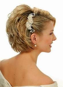 Coiffure Mariage Cheveux Court : modele de coiffure pour mariage cheveux court ~ Dode.kayakingforconservation.com Idées de Décoration