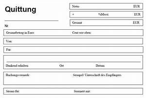 Fantastisch vorlage quittung bilder entry level resume for Quittung kaution vorlage
