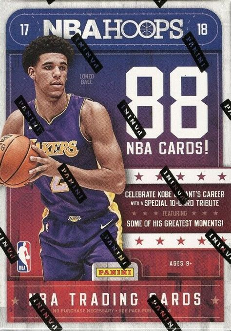 2017/18 PANINI NBA HOOPS BASKETBALL BLASTER BOX BLOWOUT ...