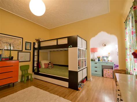Shared Kids' Rooms : 23+ Spacious Children's Room Designs, Decorating Ideas