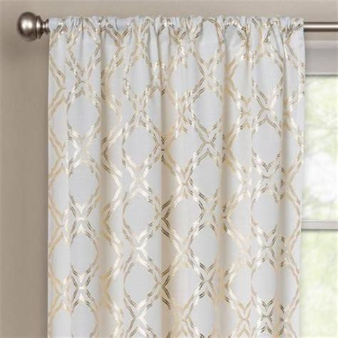 Better Homes and Gardens Metallic Trellis Gold Foil