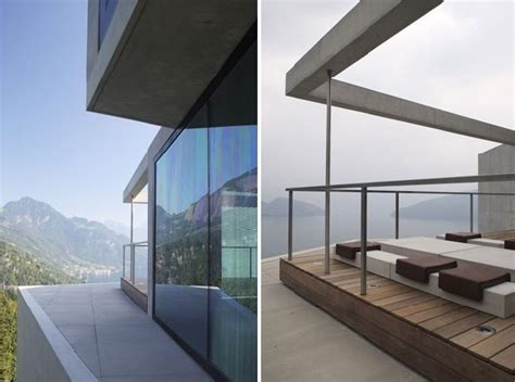 Architecturally Striking Concrete Home With Views Of The