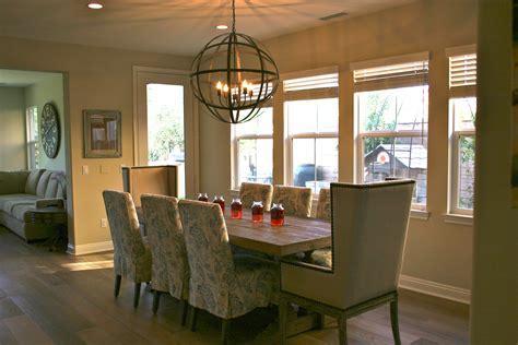 rustic restoration hardware vibe dining room reveal