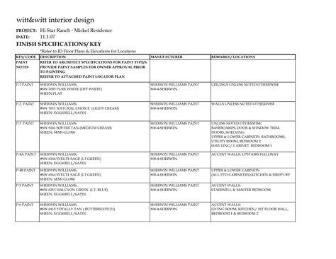 203k Contractors Resume by Fee Schedule Template