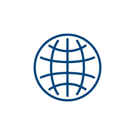 world globe icon design  psd file