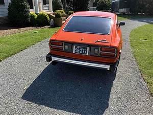 1977 Datsun 280z Sportscar Orange Rwd Manual