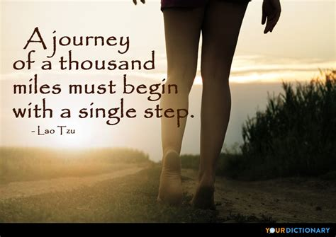 journey   thousand miles     single