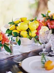 When, Life, Gives, You, Lemons, Make, A, Diy, Lemon, Centerpiece