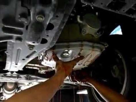 toyota  change cvt auto transmission fluid youtube