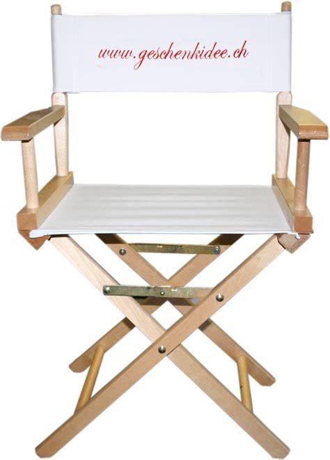 chaise cinema chaise realisateur cinéma personnalisable