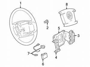 Volkswagen Phaeton Steering Wheel Wiring Harness  Steering