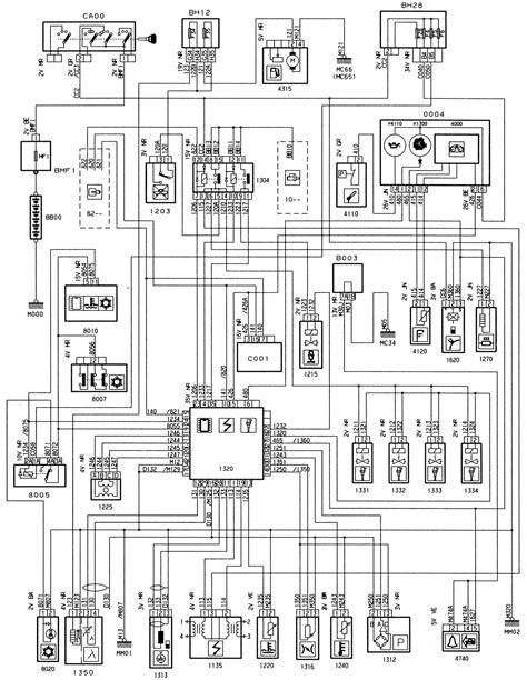 peugeot wiring diagram copy peugeot 307 central locking wiring