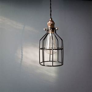 Reserved for maureenmahon industrial swag cage bulb