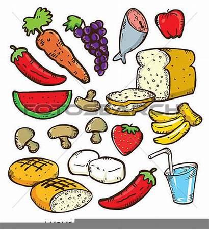 Clipart Foods Examples Clip Cliparts Clker Vector