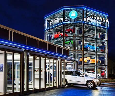 carvana coin operated car vending machine opens  nashville