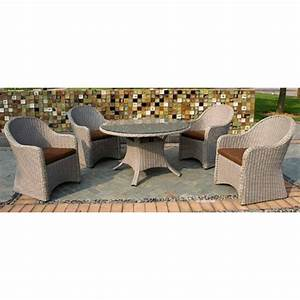 Salon Jardin Rotin : mobilier de jardin rotin tresse ~ Premium-room.com Idées de Décoration