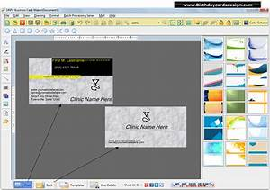 Business card design software ikwordmamainfo for Free business card design software