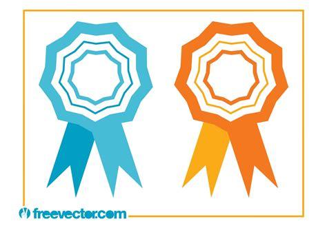 14764 award ribbon icon vector ribbons award icons free vector stock