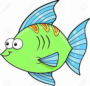 12413893-Cute-Goofy-Fish-Ocean-Vector-Illustration-Stock ...