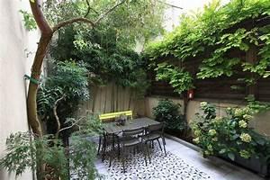 Cour De Maison : paris 20e maison de ville avec cour jardin agence ea paris ~ Melissatoandfro.com Idées de Décoration