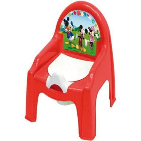 chaise pot bébé chaise petit pot de chambre bébé mickey achat vente
