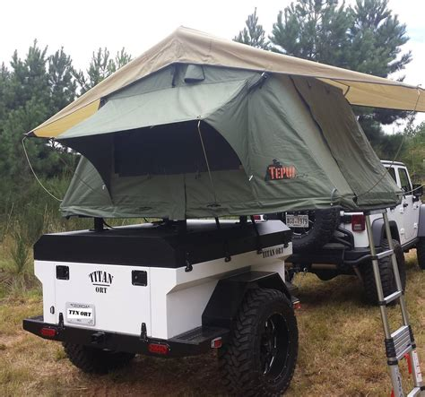 jeep cing ideas how to build a roof top tent trailer best tent 2017