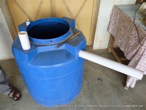 homemade biogas plant