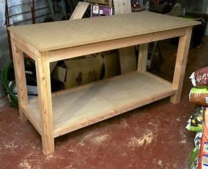 Construire Un établi En Bois : diy r alisation de mon tabli pas pas partie 2 3 ~ Premium-room.com Idées de Décoration