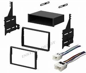 Complete Radio Stereo Install Dash Kit   Wiring Harness For 05